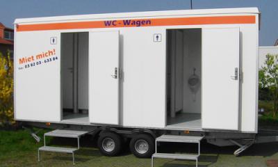 WC-Wagen - klein