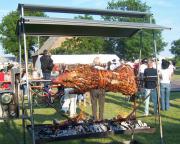Schweinegrill